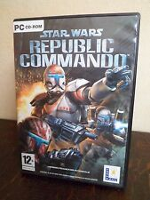 STAR WARS - Republic Commando - Jeu PC - 2 CD-ROM - 12+ ans - Version Française
