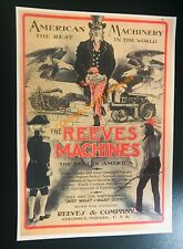American Machinery - Reeves & Co - Farm & Indian Advertising - Columbus Indiana