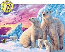 Jigsaw Puzzle Animal Wild Arctic Friends Glow Dark Hidden Images 500 pieces NEW
