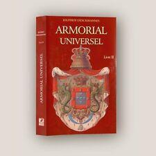 ARMORIAL UNIVERSEL & Traité complet de la science du blason Jouffroy d'Eschavann