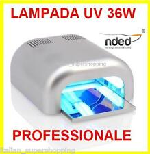 LAMPADA FORNETTO 36W NDED PROFESSIONALEUNGHIE SEMI PERMANENTE GEL UV SMALTO NAIL