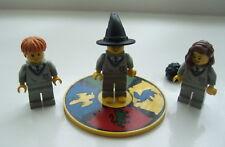 Lego Minifigures: Harry Potter, Ron Weasley., Hermione Granger Hogwarts clasificación