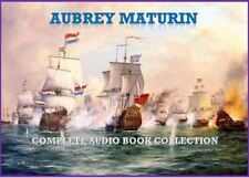 PATRICK O'BRIAN - Aubrey Maturin + Hornblower +Bolitho 126 Audio Book Collection