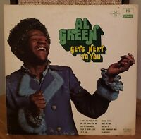 Al Green Vinyl LP Gets Next to You 1971 Hi Records Hendrix Cover Light My Fire