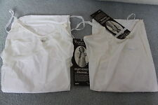 2 Vintage Henson Kickernick Full Slip White Sz 34 Private Moments NEW IN BOX