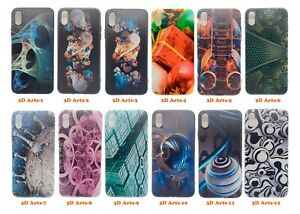 For Apple iPhone X/XS/XR 3D arts printing & customize personalized case cover