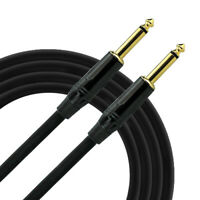 20 ft Electric Guitar Bass Cable Musical Instrument Amp Cord 1/4