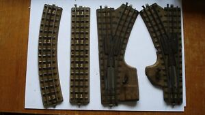 MARKLIN HO/OO GAUGE TRACK ITEMS, POINTS, STRAIGHTS, CURVES. ALL UNBOXED