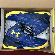 Under Armour UA Stephen Curry 2 Two Dub Nation Away 1259007-422 Warriors SZ 9.5
