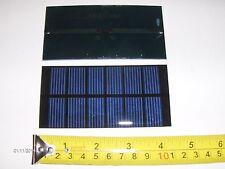 3V x 240 ma. Mini Solar Panel   epoxy encapsulated virtually indestructible .72W