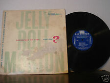 Jelly Roll Morton LP Discourse On Jazz Volume 3 1955 Very Cool Riverside Orig!