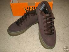 NIB Vans TNT II brown suede skateboard shoes sz5.5*COOL