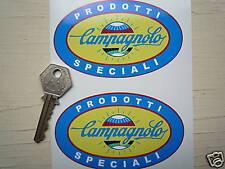 """CAMPAGNOLO Prodotti Speciali Classic Italian Car STICKERS 4"""" Pair Alfa Ferrari"""