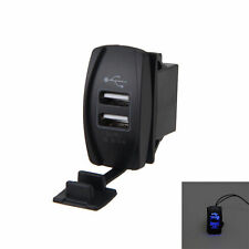 Blue USB Charger for Polaris UTV RZR RZR4 Ranger XP 1000 900 800 Crew 2015 2016K