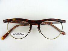Designer-Vintagebrille Oliver Peoples Mod 4 Oldschool Gold-Brown SIZE M 47 20