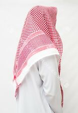 Large Arab Scarf, Shemagh Keffiyeh Islamic Headscarf Red