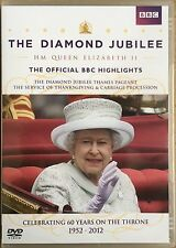 The Diamond Jubilee HM Queen Elizabeth II Official BBC DVD New & Sealed PAL (0)