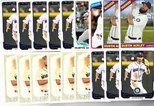 Dustin Ackley 35 Card Lot