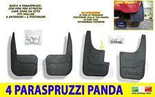 Serie Paraspruzzi Anteriori e Posteriori- Paraspruzzo Fiat Panda dal 2003>2011