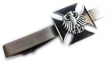 Germany German WW2 Replica IRON CROSS Eagle Military Army TIE BAR CLIP