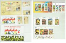 Singapore Early Stamps with Mini Sheet Set of 4