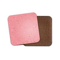 Pretty Pink Coaster - Glitter Sparkles Gold Elegant Cool Girls Mum Gift #19230
