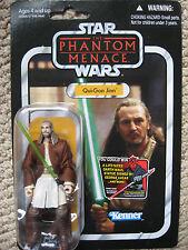 StarWars Vintage Qui-Gon Jinn (VC#75) Jedi Master