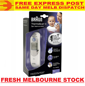 Braun ThermoScan 5 Ear Thermometer IRT 6030 6020 6500 Infants Children Adults