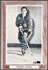 1964-67 Beehive Hockey Premium Group 3 Chicago Blackhawks #52A Pierre Pilote
