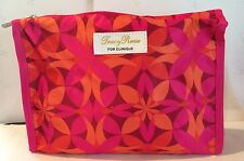 *NEW* Clinique TRACY REESE Cosmetic Makeup Bag HOT PINK/ORANGE/WINE Deisgns