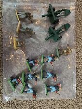 Britains Deetail , US 7th Cavalry, 13 pieces, Custer, Cannon