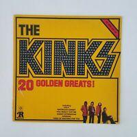 THE KINKS 20 Golden Greats RPL2031 Mono LP Vinyl VG+ near ++