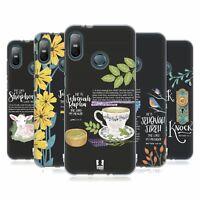 HEAD CASE DESIGNS BIBLE JOURNAL ART SOFT GEL CASE FOR HTC PHONES 1