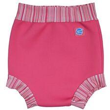 Chapotear nadada del bebé/Traje de Baño Feliz Panal/Rosa Caramelo XL 12-24 mths