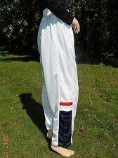 "BASKETBALL SWEAT PANTS NIKE M RED WHITE & BLUE WAIST 27""~~> 32"" INSEAM 33"" SWISH"