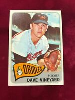 1965 Topps #169 DAVE VINEYARD Baltimore Orioles EXMT (CT17)