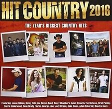 Hit Country 2016 CD NEW *2 DISC* (44 TRACKS!)