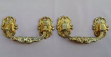 French Antique Pair of Piano Handles by L. Pinet  Bronze Hardware