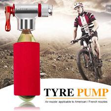 Mini bomba de bicicleta MTB inflador de CO2 de aluminio para baloncesto