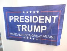NEW PRESIDENT TRUMP MAGA FLAG OR  BANNER 3 X 5 FT POLY SINGLE SIDE BRASS GROMETS