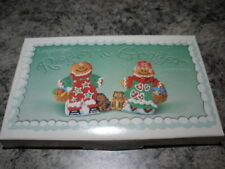 LONGABERGER POTTERY ROGER & GINGER COOKIE MOLDS NEW IN THE BOX USA ITEM  #36536