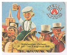 Stella Artois data Wittefeesten Zichem 31 juli -1 & 2 augustus 1981