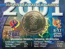 Willie: 2001 Sea Games coin card