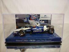 MINICHAMPS WILLIAMS FW24 BMW - COMPAQ No 6 - MONTOYA - F1 1:43 - GOOD IN BOX