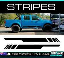 fits D40 Nissan Navara DOOR stripes decals stickers turbo diesel 4x4 4wd
