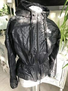 Nike Air Black Womans Jacket Hooded Size M