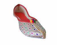 Women Shoes Traditional Handmade Flip-Flops Jutties Flat UK 5.5 EU 38.5