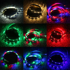 50CM/1M/2M USB Powered LED Strip Lights Bright TV Back Light Colour Changing 1PC