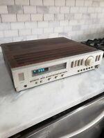 Hitachi HTA-7000 Wood Grain AM/FM Stereo Tuner Amplifier (read description)