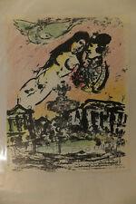 Marc Chagall, Le Ciel des Amoureux, 1963, lithographie, Mourlot imp